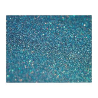 Glitter-Luxus-Diamant Holzleinwände