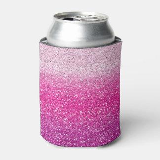 Glittery rosa Ombre Dosenkühler