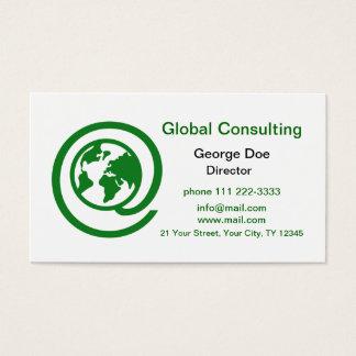 Globale Beratung Visitenkarte
