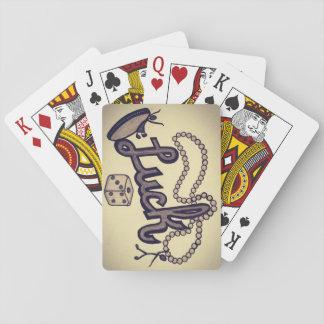 Glück ist eine Dame Spielkarten