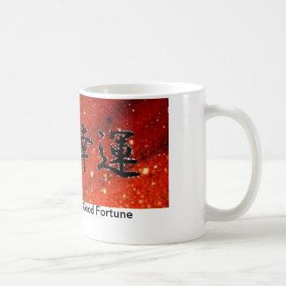 Glück Kaffeetasse