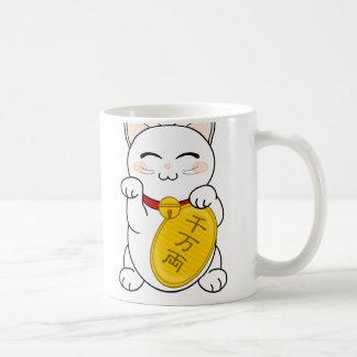Glück-Katze - Maneki Neko Kaffeetasse