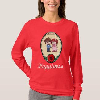 Glück - niedliches Paar T-Shirt