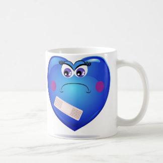 Glücklich und traurig tasse