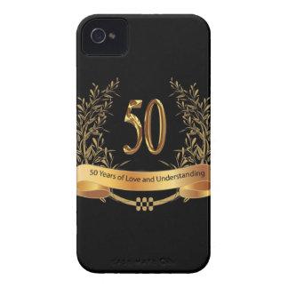 Glückliche 50. Hochzeitstag-Geschenke iPhone 4 Cover