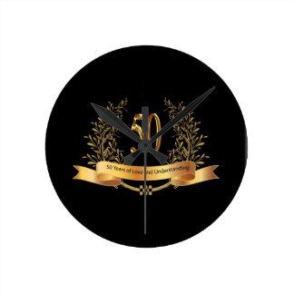 Glückliche 50. Hochzeitstag-Geschenke Uhren