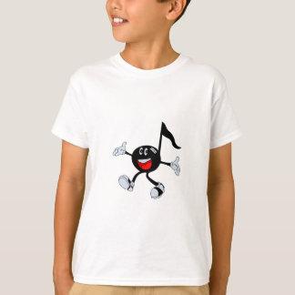 Glückliche Anmerkung T-Shirt