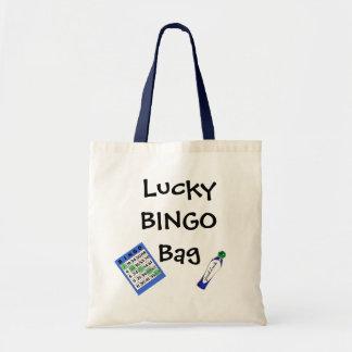 Glückliche BINGO Taschen-Tasche Tragetasche