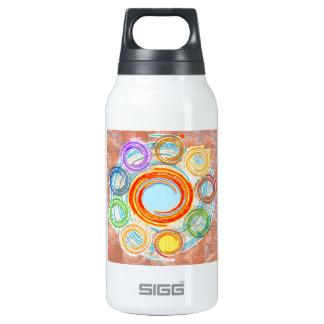 GLÜCKLICHE einfache Kunst für Ihre FREUDE Thermoflaschen