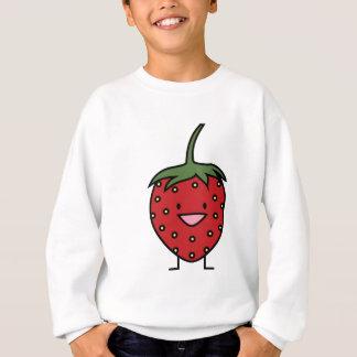 Glückliche Erdbeere Sweatshirt