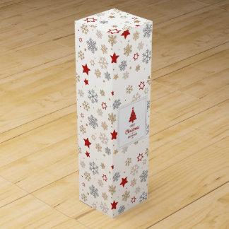 Glückliche Feiertags-Wein-Geschenkboxen Wein-Geschenkverpackung