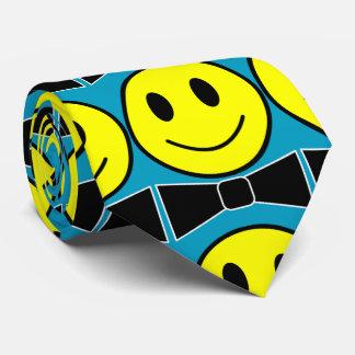 Glückliche Gesichts-Bogen-Krawatten-Krawatte Bedruckte Krawatte