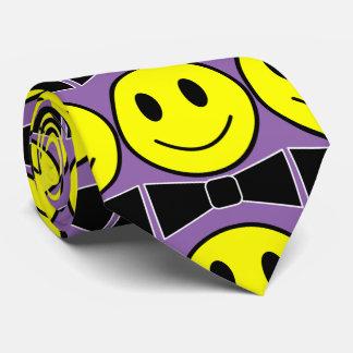 Glückliche Gesichts-Bogen-Krawatten-Krawatte Bedruckte Krawatten