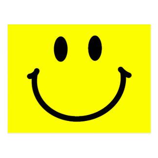 Glückliche Gesichts-Postkarte Postkarte