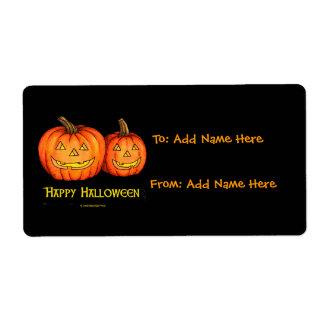 Glückliche Halloween-Kürbise