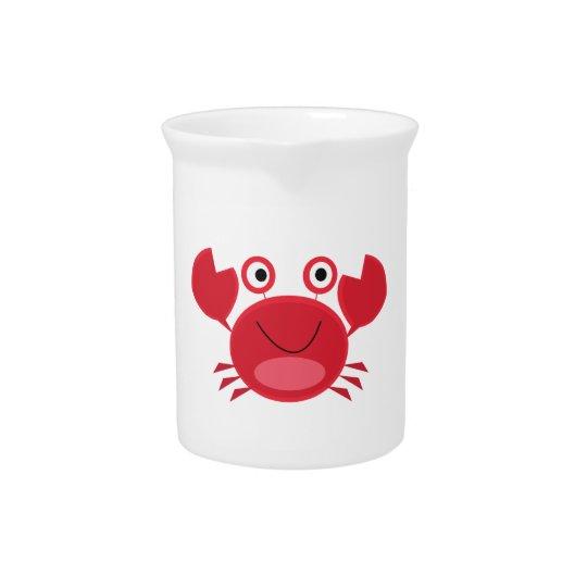 Glückliche Krabbe Krug