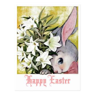 Glückliche Ostern-Postkarte Postkarte