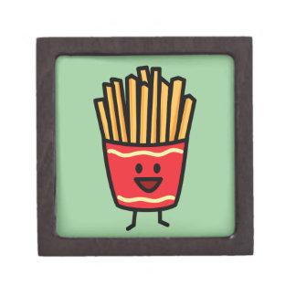 Glückliche Pommes-Frites Schmuckkiste