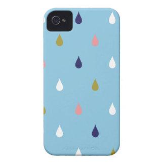 Glückliche Regentropfen iPhone 4 Cover