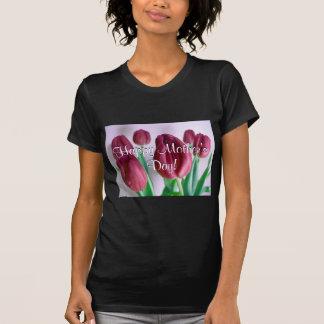 Glückliche Rosey der Tag der Mutter Tulpen I T Shirt
