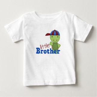 Glückliche Schildkröte-kleiner Bruder Baby T-shirt