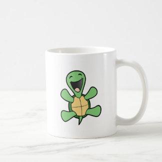 Glückliche Schildkröte Haferl