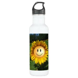 Glückliche Sonnenschein-Blume Trinkflaschen