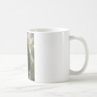 Glückliche Überraschung Kaffeetasse