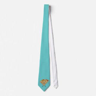 Glückliche Waffel Individuelle Krawatten