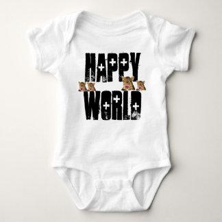 glückliche Welt Baby Strampler