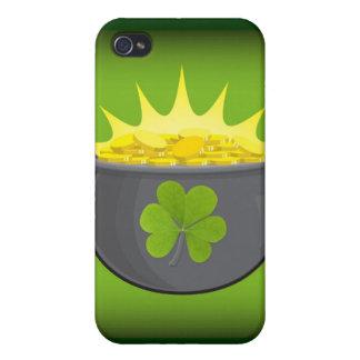 Glücklichen St Patrick Tag! iPhone 4/4S Cover