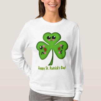 Glücklichen St Patrick TagesKleeblatt T-Shirt