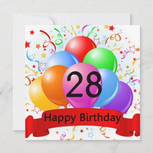 28 Geburtstag Gluckwunsche Und Spruche