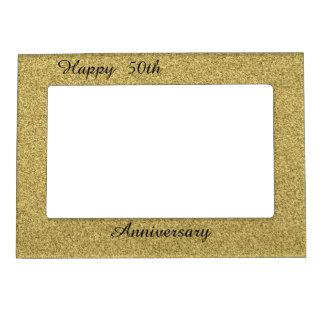 Glücklicher 50. Jahrestag Magnetrahmen