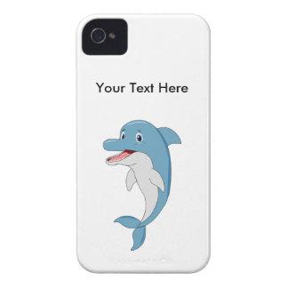 Glücklicher Delphin iPhone 4 Etuis
