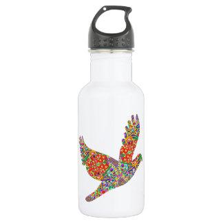 Glücklicher ENGEL Vogel - perfektes Goodluck Edelstahlflasche