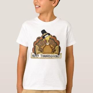 Glücklicher Erntedank die Türkei T-Shirt