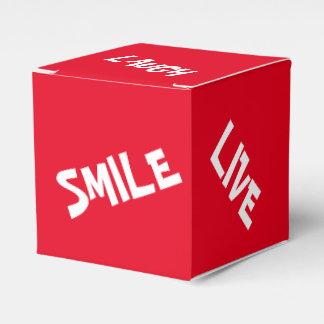 Glücklicher Gedanken-Bevorzugungs-Kasten Geschenkschachtel
