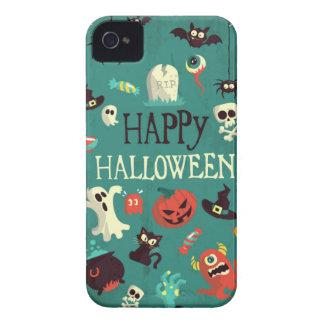 Glücklicher Halloween iPhone 4 Fall Case-Mate iPhone 4 Hüllen