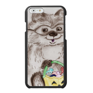 Glücklicher Halloween-Waschbär Incipio Watson™ iPhone 6 Geldbörsen Hülle