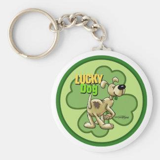 Glücklicher Hund - irisches keychain Schlüsselanhänger