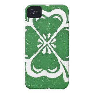 Glücklicher Klee iPhone 4 Fall Case-Mate iPhone 4 Hülle