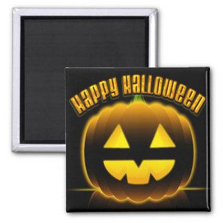 Glücklicher Magnet Halloweens 3B Quadratischer Magnet