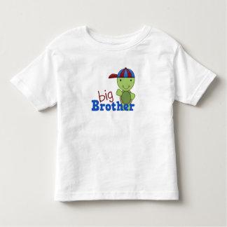 Glücklicher Schildkröte-großer Bruder Kleinkinder T-shirt