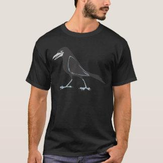 Glücklicher schwarzer Raben-Vogel T-Shirt