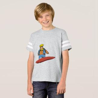 Glücklicher Surfer s T-Shirt