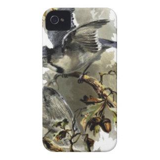 Glücklicher Zuhauseblaustrahl iPhone 4 Case-Mate Hülle