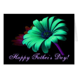 Glückliches der Vatertags-grün-blaues