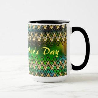 Glückliches der Vatertags-Schwarzes 15 Tasse