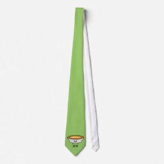 Glückliches Ei-scharfer Vanillepuddingkruste Bedruckte Krawatten